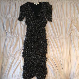 Diane von Furstenberg mesh dress